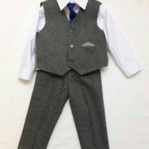 Vivaki grey tweed 4 piece