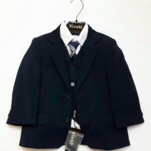 Vivaki navy 5 piece suit