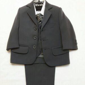 Vivaki grey 5 piece suit