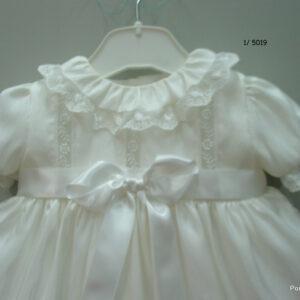Ivory christening dress 5019-0