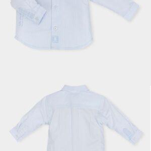 Tutto Piccolo Shirt In Sky Blue - 5041Cw18 / B01