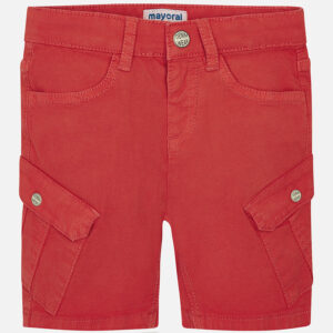 Mayoral Fiesta Red Party Structured Shorts - 3243
