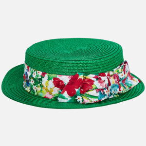 Mayoral Green Bow Hat - 10612