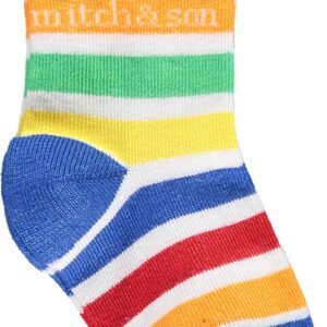 Mitch And Son Boys White Two-Pack Sock - MS1131 Allan