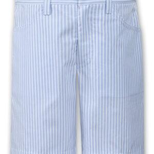 Sarah Louise Blue/White Shorts - 011550