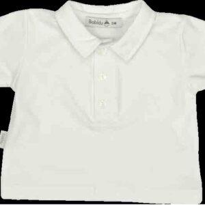 Babidu White Polo Top - 2190