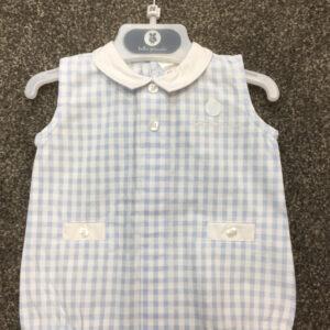 Tutto Piccolo Blue Babygrow 6383S19-0