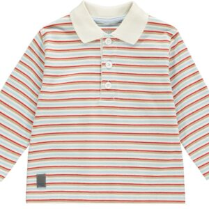 Mitch And Son stripe polo MS1241