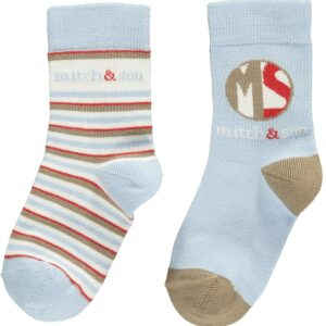 Mitch And Son Albert Pale Blue Sock - MS1252