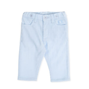 Tutto Piccolo sky blue trousers - 7110W19