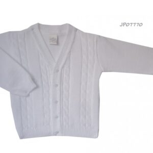 Pretty Originals boys cream cardigan - JP07770E