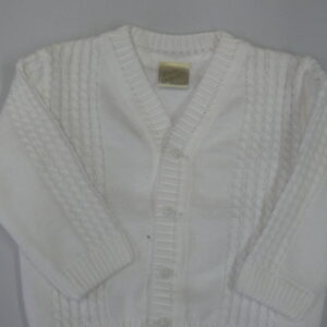 Pretty Originals boys white cardigan - JP61196E