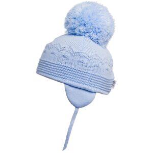 Satila Light Blue Large Pom Hat - C61515 - 453 Belle
