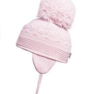 Satila Light Pink Large Pom Hat - C61515 - 149 Belle