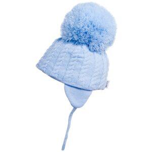 Satila Light Blue Big Pom Hat - C31813 - 453 Laura
