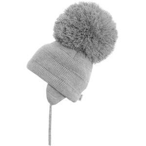 Satila Lt-Grey Large Pom Hat - C81508 - 130 Tuva