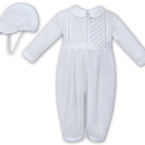 Sarah Louise Romper and Cap - 011611 White