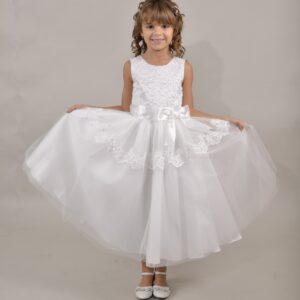 Communion Dress Long Length by Sweetie Pie - UK444