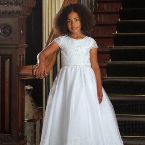 Communion Dress Long Length by Sweetie Pie - UK4002