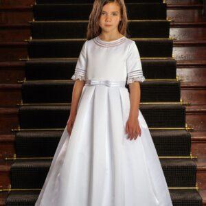 Communion Dress Long Length by Sweetie Pie - UK4010