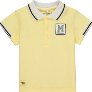 Mitch And Son Boys Lemon Polo Top With Rib Sleeve - MS1326 JOHN