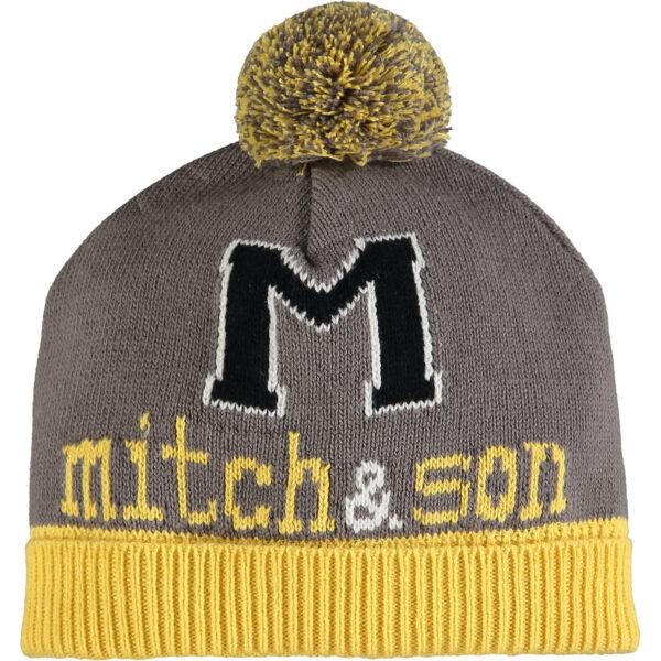 Mitch & Son Dark Grey Taxi Hat - MS1400H DECLAN