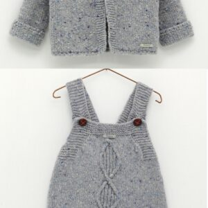 Foque Boys Knitted 2 Piece Set - 2021236-28 & 2021235-28