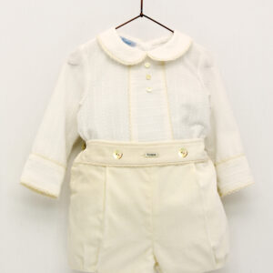 Foque Boys Ivory Top and Shorts Set - 2024202 - 22