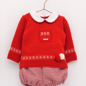 Foque Boys Red Top and Shorts Set - 2024220 - 45