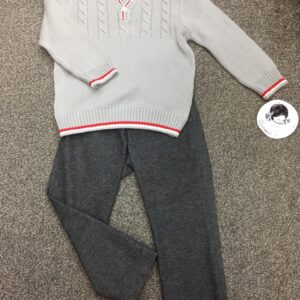 Sarah Louise Boys Jumper & Trouser Set - 012183 / 012185