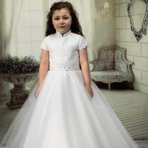 Communion Dress Long Length by Sweetie Pie - UK4033