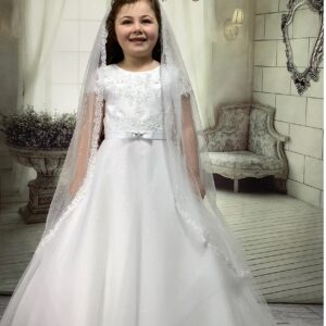Communion Dress Long Length by Sweetie Pie - UK4038