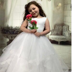 Communion Dress Long Length by Sweetie Pie - UK4050
