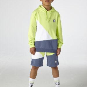 Due in soon-Alaska Cut n sew hoody (Lime)