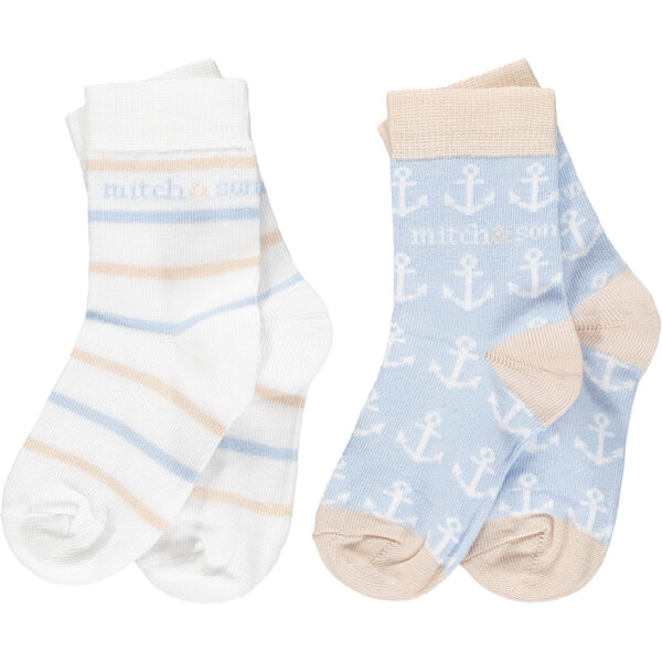 Bank nautical socks